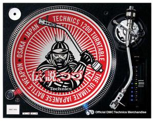 DMC Technics Samurai Slipmats (x 2) OFFICIAL MERCHANDISE