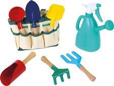 Nuevo Conjunto de jardinería para niños Niños Conjunto de herramientas de jardín de metal y bolsa Conjunto de regalo