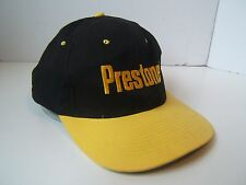 Prestone Hat Black Yellow Snapback Baseball Cap