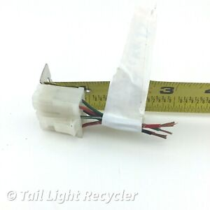 OEM 1999-2004 Chevrolet Tracker Left (Driver Side) Tail Light Connector Pigtail