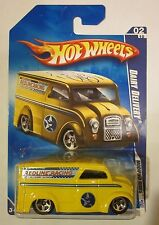 2009 Hot Wheels #158 - DAIRY DELIVERY - Modified Rides - Yellow - Redline Racing