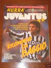 HURRA' JUVENTUS 1991/6 EZIO GREGGIO ROBERTO BAGGIO ****