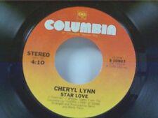 "CHERYL LYNN ""STAR LOVE / YOU'RE THE ONE"" 45"