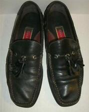 Cole Haan Mens Black Tassel Loafers Size 7M