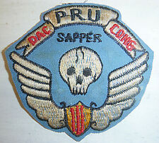 Elite Patch - CIA MERCENARY SAPPERS - Provincial Recon Unit - Vietnam War - 0552