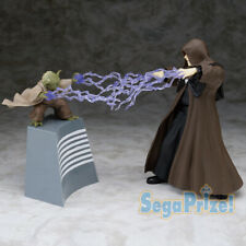 sega Star Wars 1/10 scale Palpatine and Yoda PVC Figure Figurine