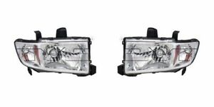 Right and Left Side Replacement Headlight PAIR For 2009-2014 Honda Ridgeline