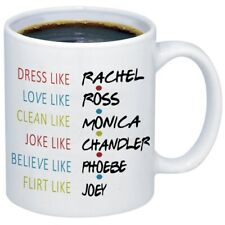 Friends Tv Show Coffee Mugs Funny 11Oz White Ceramic Coffee Mug Funny Gift Cup