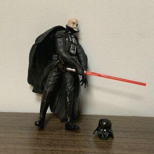"""Star Wars 2003 Darth Vader Removable Helmet With Lightsaber 3.75"""" Action Figure"""