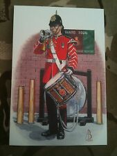 Military Postcard 1bn Queens Lancashire Regiment QLR 1994-97 by Alix Baker