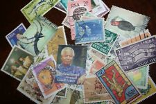 Accumulo 25 francobolli usati del SUD AFRICA (RSA)