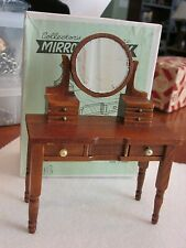 New ListingVintage Collector's Miniatures Doll House Miniature Mirrored Vanity 1:12