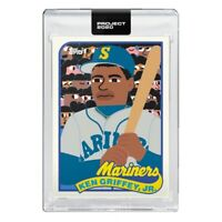 KEN GRIFFEY JR Topps Project 2020 Presale - 1989 by Keith Shore *Trusted seller*