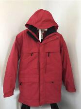 Men's Large Tall LT Vintage L.L. BEAN 3-in-1 Red Warden's Coat Down Liner Jacket