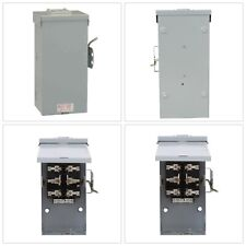 GE Emergency Power Transfer Switch 100 Amp 240-Volt Double-Throw Non-Fused NEW!