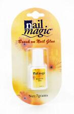NAIL MAGIC BRUSH ON GLUE NEW FALSE NAILS 7G UK SELLER