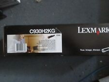 Genuine Lexmark C930H2KG BLACK Toner Cartridge C935 38,000 Pages