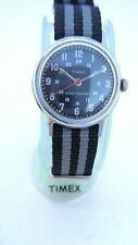 Vintage 1973 Timex Sprite Military Style Watch 23172 2473 Serviced Working T-22