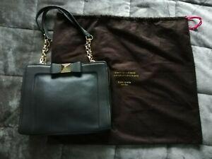 Kate Spade - Black Leather Shoulder Bag.