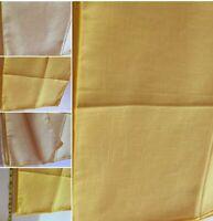 "Beautiful Yellow Napkins Set of 6 - 16 x 16"" Table Linen New No Tags SKU 030-49"
