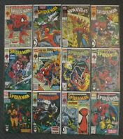 Spider-Man Vol 1 Issues #1-12 Marvel Comics 12 Book Lot Wolverine Ghost Rider 90