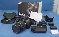 Samsung NX1 28.2MP Digital Camera - Black (Kit w/ S 16-50mm Lens)