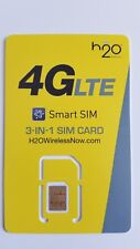 H2O H20 Sim card • Samsung Galaxy S5 S6 S7 Edge S8 S8+ Plus S9 Note