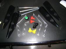Pinball Stern Part Lot: Shooter rods Lane guide Flipper Buttons Leg Protectors