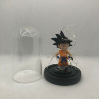 Dragon Ball Z Figures cute Son Goku Anime DBZ Model Toys In Glass with LED Light