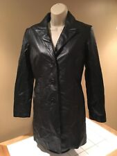 Women's Guess Black Leather Jacket size S Small