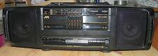 *-* Portable Radio - Lecteur double K7 / JVC