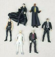 The Matrix 1999 Action Figures Lot of 6 Neo Morpheus Trinity Switch Cypher Smith