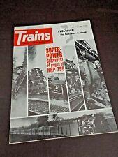 Trains Magazine March 1969 Edition Superpower Survives (#6T035)