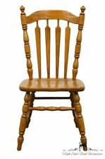 TELL CITY Country French Solid Oak Dining Side Chair - #14 Tanbark Oak Finish...