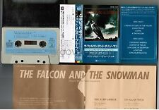 DAVID BOWIE PAT METHENY The Falcon And The Snowman JAPAN CASSETTE ZR28-1259 w/PS