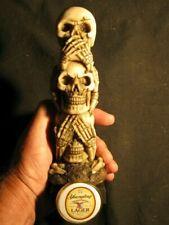 beer tap handle stacked skulls