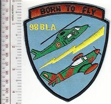 Belgium Royal Belgian Air Force RBAF BLA-98 Course Badge 1999 Born to Fly styl b