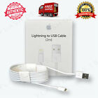 OEM 2M Lightning USB Cable 6FT Apple iPhone 7 6s6 Plus 5s5 Data Sync Charger Box