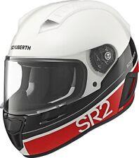 Motorrad Helm Schuberth SR2 Formula Red Farbe: Weiß/Schwarz/Rot Gr: 59