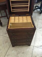 ANTIQUE SEWING CABINET (Rare Find)