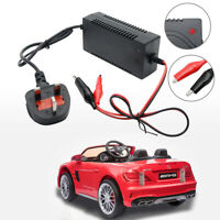 DC 12V 1000mA Battery Charger Adapter For Electric Kids Ride on Car Bike Toy