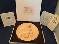 The Pensive Madonna Collector's Plate - Ado Santni - Plate #5607 In Original Box