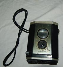 Vintage Brownie Reflex Camera Eastman Kodak New York USA Strap Antique