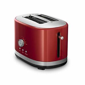 KitchenAid RKMT2116ER  2-Slice Long Slot Toaster | Empire Red (Refurbished)