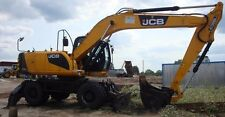 JCB JS200W Wheeled Excavator Workshop Service Repair Manual
