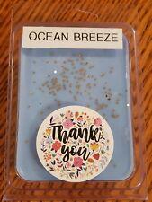 Ocean Breeze Scented Wax Melts, Cubes, Tarts- 3 oz Pack- Wax Warmer