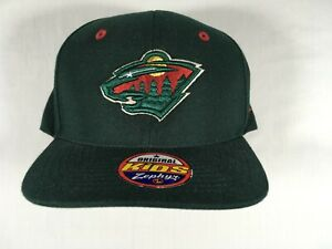 Minnesota Wild NHL Zephyr Youth Snapback Cap