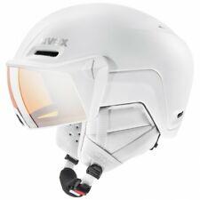 Uvex hlmt 700 Visor Ski Snowboard Helmet - White Matt 55-59cm - RRP £180