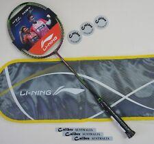 Li-Ning Turbo Charging N9 II Racquet, GREEN/Brown, Choice of String, Genuine