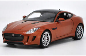 Welly 1:24  Diecast  Alloy Car Model Collection orange For JAGUAR F-Type Coupe